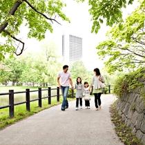 中島公園を散歩しよう!