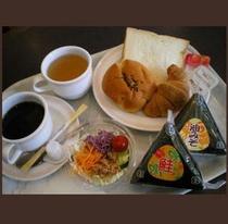 朝食風景②