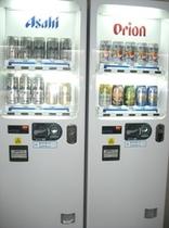 2階コインランドリー室(アルコールの自動販売機もございます)オリオンビールがお勧めです♪