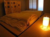 山桜 寝室
