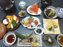 ご夕食(土曜日の一例)