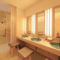 女性大浴場(星の湯) パウダースペース