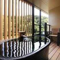 露天風呂付和室の一例