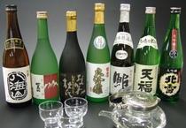 地酒から、焼酎は本場九州より有名処を各種取り揃えております。