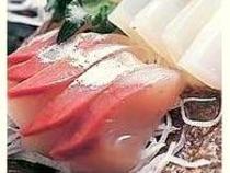 とれたて鮮魚のお造りの美味しさをじっくりと!