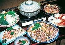 質・ボリューム・旨さ、おまかせのカニ料理!