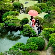 ■庭園挙式風景■