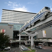 ■小倉駅とモノレール■