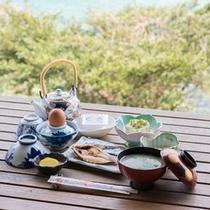 *【朝食一例】和定食を食べて1日を元気良くスタート