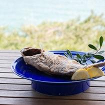 *【夕食一例】ホクホクの身に魚の旨みがぎゅっと詰まっております
