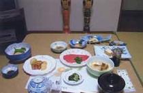 夕食(客室出し)
