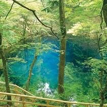 <周辺・景観>十二湖青池