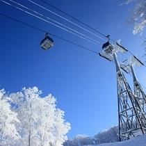 <周辺・景観>青森スプリング・スキーリゾート ゴンドラ