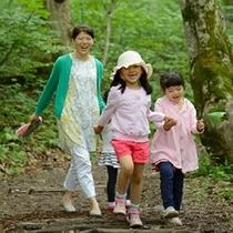<周辺・景観>白神の森遊山道を散歩