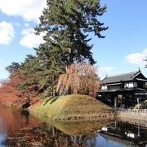 <周辺・景観>秋の弘前城