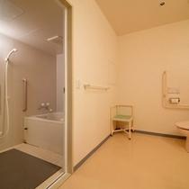 ハートフルルームのバスルーム