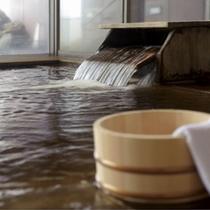 天然温泉内湯