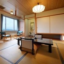 岩木山側和室のお部屋の一例