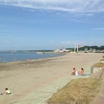<周辺・景観>鰺ヶ沢海水浴場