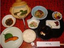 ≪ご朝食のイメージ≫10月より秋冬バージョン。京風のやさしいお味でご用意いたします。