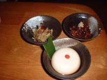 夕食例1(和食)