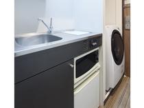 ★ミニキッチン&洗濯乾燥機