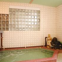 *温泉/24時間入れる男女別の内湯。保温効果がありお肌もつるつる♪入りやすい湯温も人気。
