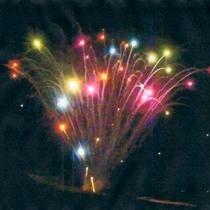 夏の鵜の浜海岸イベント/夜8時より10分間、音楽と花火の競演♪8月の複数日程にて開催。