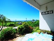 【看板】ビーチが近く、島の端に位置しており静かな立地です