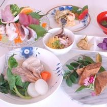 島ならではのお料理がずらり♪奄美ならではの味をお楽しみ下さい。