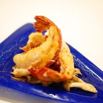 (ご夕食一例)奄美でとれた鮮魚を使った魚料理(ご夕食一例)