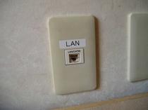 LAN接続ジャック