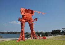 常盤公園 ときわミュージアム 彫刻野外展示場