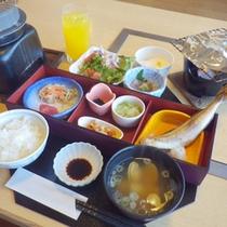 *【朝食例】体に優しい和朝食をお楽しみください。