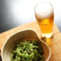 夏の頃。冷たい生ビールが美味しい頃。新潟の枝豆が美味しい頃。