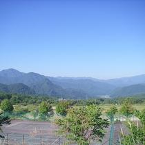 *【グリーンシーズン風景】山々に囲まれた会津高原(一例)