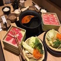 【温野菜】2食付お鍋セット(お肉・野菜・ごはんセット)