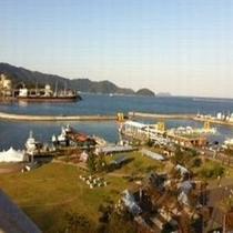 海側からの景色