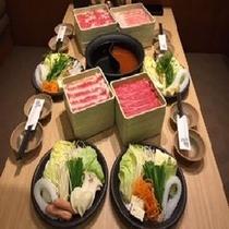 【温野菜】お食事の一例です