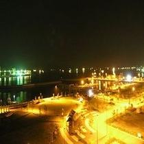 海側からの夜景