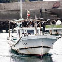 当館所有の漁船