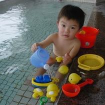 お風呂で遊べる!