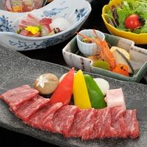 【ステーキ膳】ご昼食メニュー。