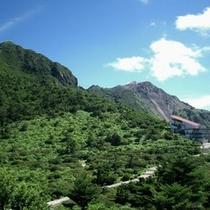 雲仙仁田峠と平成新山