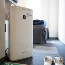 客室:加湿空気清浄機