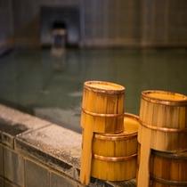 檜の桶&イス