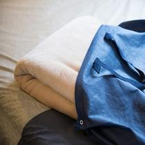 客室:毛布