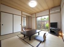 2間の内風呂付き客室