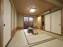 客室はすべて離れ形式の和室