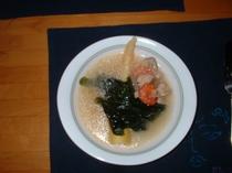 若布のスープ
